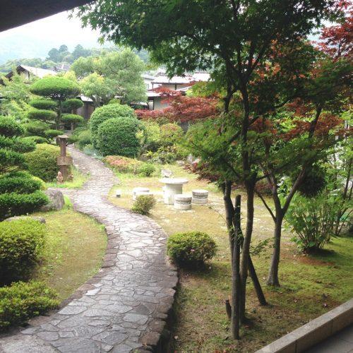 園内の庭園